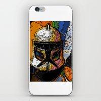 Funky Bucket Head iPhone & iPod Skin