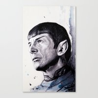 Goodbye Mr. Spock - Leon… Canvas Print