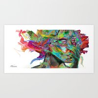 Mind Mirror Art Print
