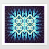 Lightbox Art Print