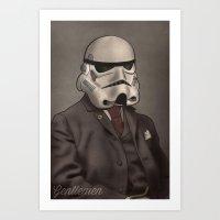 Gentlemen Stormtrooper Art Print