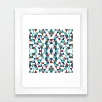 Geometric #4 Framed Art Print
