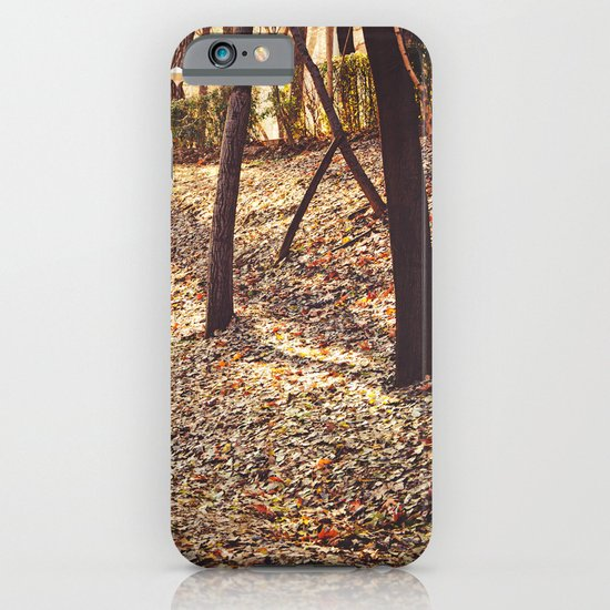 Bed of Leaves iPhone & iPod Case