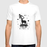 Transition Mens Fitted Tee White SMALL