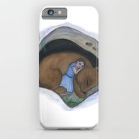 iPhone & iPod Case featuring A Winter's Sleep by Debra Styer