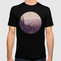 The View Mens Fitted Tee Black SMALL