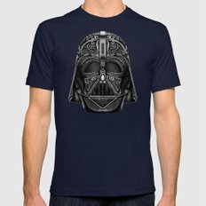 Aztec Black vader Mask iPhone 4 4s 5 5c 6, pillow case, mugs and tshirt Mens Fitted Tee Navy SMALL
