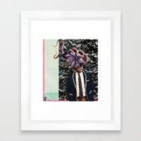 F A C E  Framed Art Print