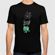 Synapses And Nerves Mens Fitted Tee Black SMALL
