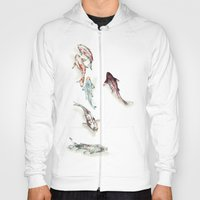 Koi Fish Watercolour Hoody