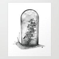 Snail - Evolving Home Art Print