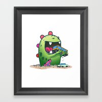 Dinosaur Framed Art Print