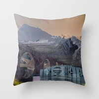 imposscape_02 Throw Pillow