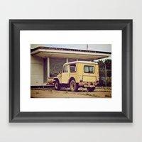 Omaha, USA Framed Art Print