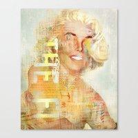 Destructuration #4 Canvas Print