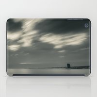 Lisbon in Black and White iPad Case