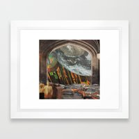 We're All Just Passing Through Framed Art Print