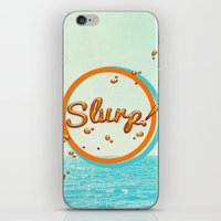 Summer Slurp! iPhone & iPod Skin