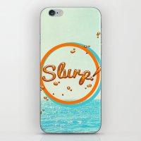 Summer Slurp! iPhone & iPod Skin
