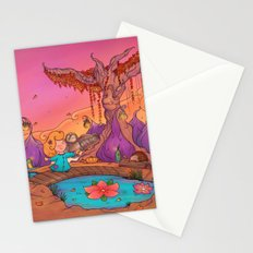 My wise friend and I Stationery Cards