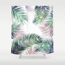 Shower Curtain - tropical leaves 2 - franciscomffonseca