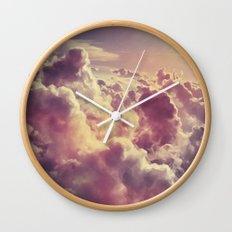 Clouds1 Wall Clock