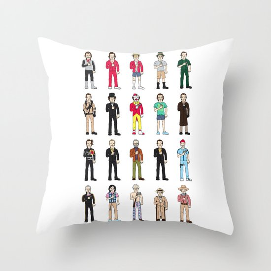 Murrays Throw Pillow