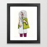 Fashion Illustration - P… Framed Art Print