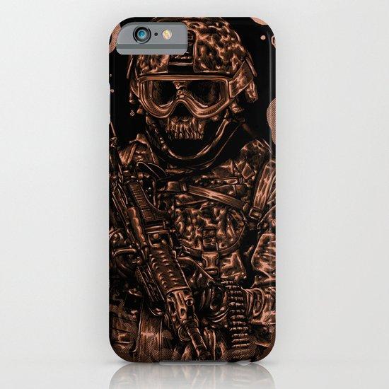 Military skull iPhone & iPod Case