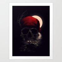 Treasure Hunting Art Print