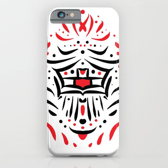Temple of faces iPhone & iPod Case