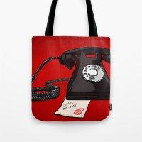 Late Call  Tote Bag