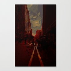 Cities and Desire II Canvas Print