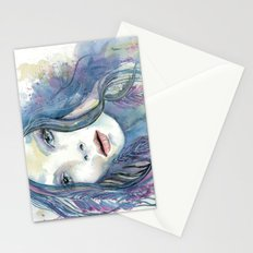 Bohemian woman  Stationery Cards