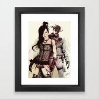 WWest Framed Art Print