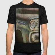 Chevy Apache Mens Fitted Tee Tri-Black SMALL