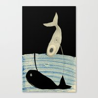 Giant Sleeps Canvas Print