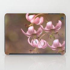 Pink Nostalgic Flowers iPad Case