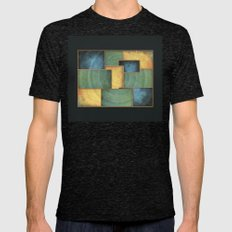 The Light Well Mens Fitted Tee Tri-Black SMALL