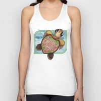 Daisy Do Baby Turtle Unisex Tank Top