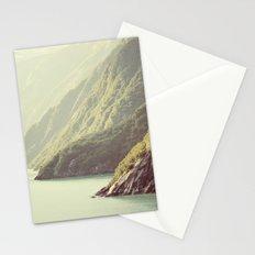 Alaskan hills fading Stationery Cards