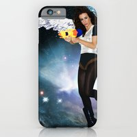 iPhone & iPod Case featuring Barbarella by lauraruiz