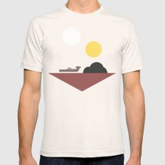Tatooine Natural Mens Fitted Tee SMALL