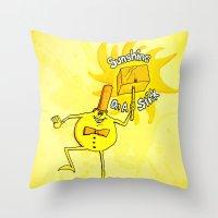Sunshine On A Stick. Tim… Throw Pillow