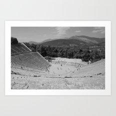Epidauros 16 Art Print