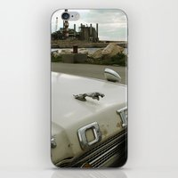 Travel Away on a Rainy Day iPhone & iPod Skin