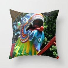 Dragon Coaster Throw Pillow