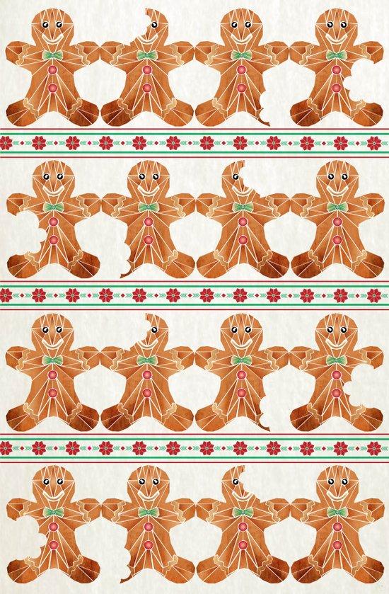 gingerbread man Art Print
