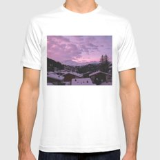 Swiss SMALL Mens Fitted Tee White