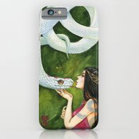 The White Snake iPhone 6 Slim Case